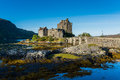 Eilean Donan Castle In Highland, Scotland In Autumn Season Stock Image - 61964131