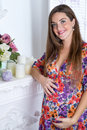 Portrait Of Pregnant Woman Stock Photography - 61977002