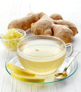 Ginger Tea Royalty Free Stock Images - 61977669