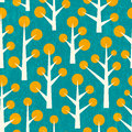 Cute Tree Pattern Royalty Free Stock Photos - 61984718