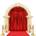 Red Carpet Royalty Free Stock Photography - 61991967