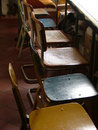 Row Of Chairs Royalty Free Stock Photos - 623108