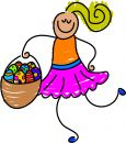 Easter Basket Royalty Free Stock Photography - 626047