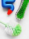 Scrubbing Cleaning Brushes Royalty Free Stock Photo - 6200895