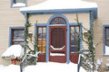 Snowy House Stock Image - 6205391