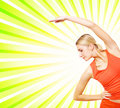 Fitness Trainer Stock Image - 6206091