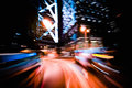 Modern City Motion Blur. Hong Kong. Abstract Cityscape Traffic  Stock Images - 62006134