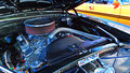Chevrolet Camero SS Engine In A Public US Classic Muscle Car Sho Royalty Free Stock Photography - 62009707