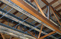 Great Pipes Of A Heating And Air-conditioning Royalty Free Stock Photos - 62014158