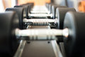 Dumbbell In Fitness Club Royalty Free Stock Photo - 62026405