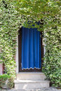 Home Entrance Covered With Blooming Plants Royalty Free Stock Photos - 62026978