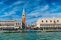 View Of St Marks Square And Campanile In Venice Stock Photo - 62031070