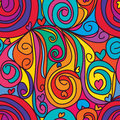 Swirl Drop Love Seamless Pattern Stock Images - 62048274