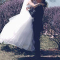 Wedding Sweet Couple Kissing, Bride And Groom Stock Photography - 62065052