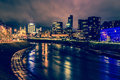 Vilnius Night Scene Stock Photography - 62065992