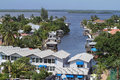 Aerial View Of Fort Myers Beach Back Bay Area Royalty Free Stock Photos - 62071598