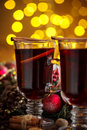 Christmas Hot Mulled Wine Royalty Free Stock Image - 62094096