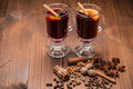 Christmas Hot Mulled Wine Royalty Free Stock Image - 62094276