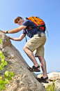 Man Climbing Royalty Free Stock Images - 6218459