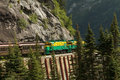 Scenic Railroad On White Pass And Yukon Route In Skagway Alaska Royalty Free Stock Photography - 62106687