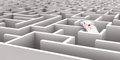 Mouse Maze Stock Photography - 62111292