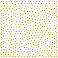 Seamless Pattern With Gold Painted Dots Stock Photo - 62116230