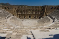 The Roman Ancient Theater In Aspendos. Royalty Free Stock Image - 62117606