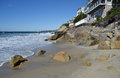 Pearl Street Beach Along The Southern California Coastline In South Laguna Beach. Stock Image - 62121331