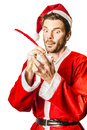 Christmas Elf Writing To Do List For Santa Royalty Free Stock Photos - 62122188