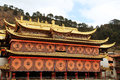 Langmu Temple Of Tibetan Buddhism In China Royalty Free Stock Image - 62156466