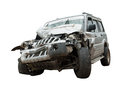 Crashed - A Totaled SUV Royalty Free Stock Images - 62159099