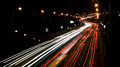 Traffic On The Street At Evening Royalty Free Stock Photography - 62162107