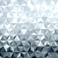 Metal Silver 3d Geometry Low Poly Seamless Pattern Royalty Free Stock Images - 62167329