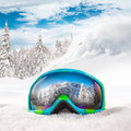 Colorful Ski Glasses Stock Images - 62169954