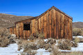 Reclaimed Wooden Shed In Bodie, California, USA.. Royalty Free Stock Photo - 62171385
