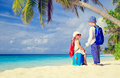 Little Boy And Girl Travel On Summer Tropical Stock Photos - 62177763
