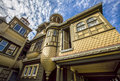 Famous Door To Nowhere At The Winchester Mystery House Stock Image - 62210691