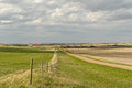 Small Village Of Canadian Prairies Stock Image - 62213411