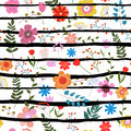 Seamless Floral Texture Royalty Free Stock Images - 62214799