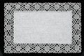 White Handmade Lace Doily Royalty Free Stock Images - 62234199