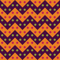 Vector Modern Seamless Colorful Geometry Chevron Lines Pattern, Color Purple Orange, Abstract Stock Photo - 62237410