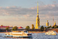 Peter And Paul Fortress And Ships On Neva Stock Image - 62252941