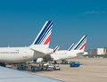 Airfrance Planes In Paris Royalty Free Stock Photos - 62266908