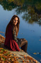 Autumn Portait, Lovely Girl Royalty Free Stock Image - 62309046