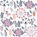 Abstract Floral Seamless Adorable Gentle Elegance  Pattern With Royalty Free Stock Images - 62350429