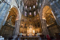 Interior Of Cathedral Of Avila, Spain Stock Photos - 62370443