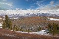 Beautiful Winter Landscape, Altai Mountains Russia. Royalty Free Stock Image - 62373846