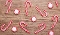 Christmas. Peppermint Candy And Canes Royalty Free Stock Photography - 62375497