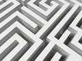 3D Labyrinth Stock Photography - 6241522