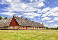 Old Thatched Roof Barn Royalty Free Stock Photos - 62403298